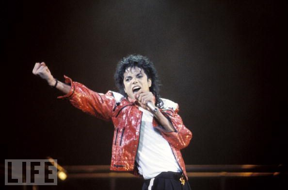 Jackson on Tour in 1990