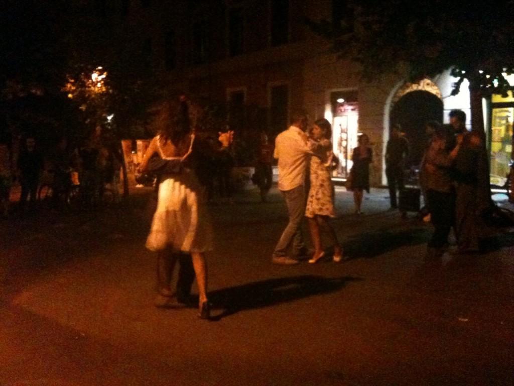 Tango al Pigneto, 31 agosto 2010