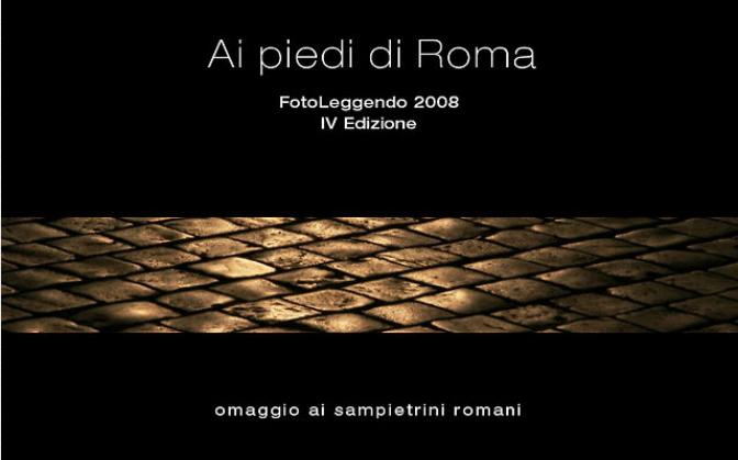AI PIEDI DI ROMA LE FOTO