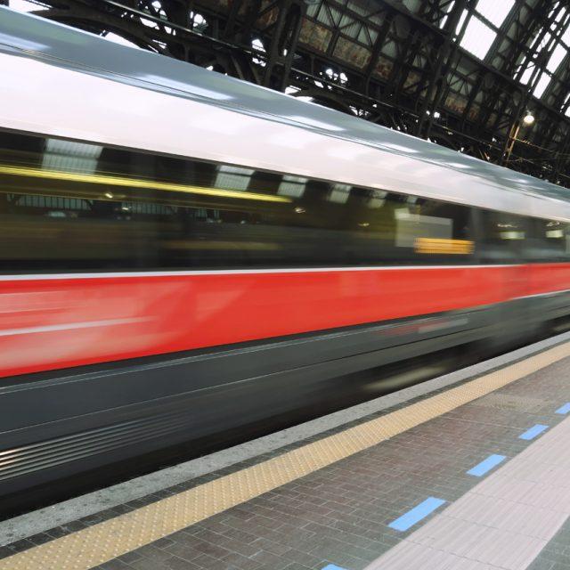 In treno con Crimi…