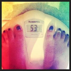 7 agosto 2013 - 53,4kg