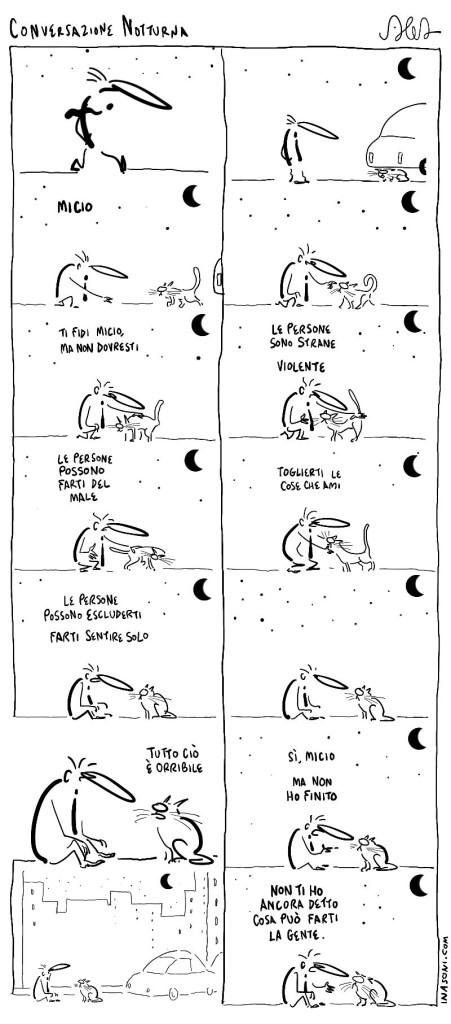 Conversazione notturna - I Nasoni