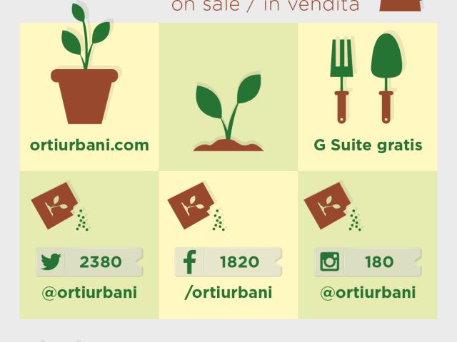 Orti Urbani in vendita (sul web)